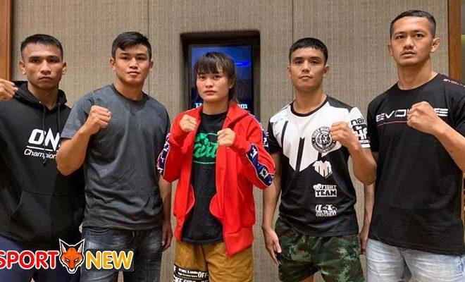 ร่วมเชียร์ 5 นักสู้จากไทยใน ONE MASTERS OF FATE