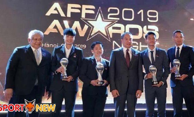 สมาคมฟุตบอลของไทยคว้า 7 รางวัลใน AFF 2019