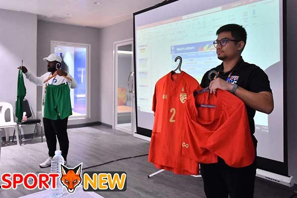 ทีมชาติไทยสวมเสื้อสีแดงลุย ซาอุ รอบ 8 ทีม